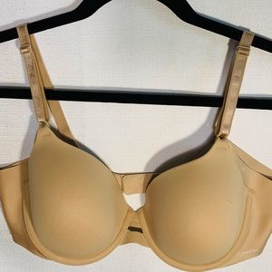 Calvin Klein beige t-shirt bra 38b